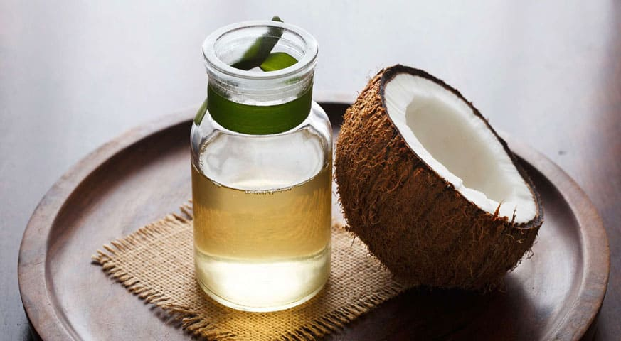 Treat Remove Fungal Infection Marks Cocunut Oil